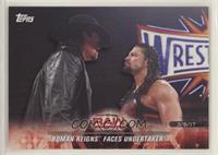Roman Reigns Faces Undertaker