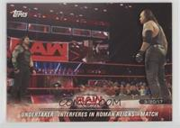 Undertaker Interferes in Roman Reigns' Match