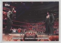 Undertaker Confronts Roman Reigns