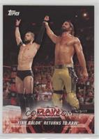 Finn Balor Returns to Raw
