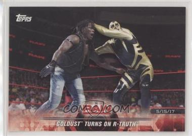 2018 Topps WWE Road to Wrestlemania - [Base] #37 - Goldust Turns on R-Truth
