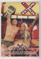 The Miz Defeats Dean Ambrose for the Intercontinental Championship