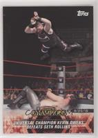 Universal Champion Kevin Owens Defeats Seth Rollins