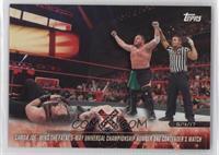 Samoa Joe Wins the Fatal 5-Way Universal Championship Number One Contender's Ma…