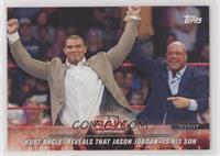 Kurt Angle Reveals that Jason Jordan is his Son