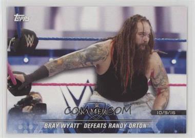 2018 Topps WWE Road to Wrestlemania - [Base] #58 - Bray Wyatt Defeats Randy Orton