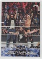 The New Wyatt Family Win the SmackDown Tag Team Championship [NoneEX…