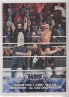The New Wyatt Family Win the SmackDown Tag Team Championship