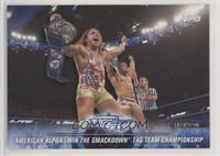 American Alpha Win the SmackDown Tag Team Championship