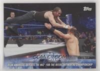 Dean Ambrose Defeats The Miz for the Intercontinental Championship