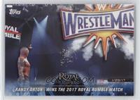 Randy Orton Wins the 2017 Royal Rumble Match