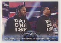SmackDown Tag Team Champions The Usos Defeat Breezango [EXtoNM]