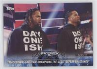 SmackDown Tag Team Champions The Usos Defeat Breezango