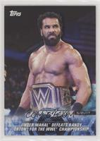 Jinder Mahal Defeats Randy Orton for the WWE Championship