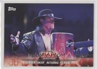 Undertaker Returns to Raw