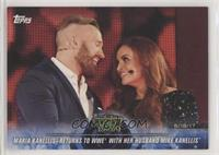 Maria Kanellis Returns to WWE with her Husband Mike Kanellis [NoneEX…