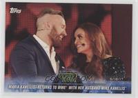 Maria Kanellis Returns to WWE with her Husband Mike Kanellis
