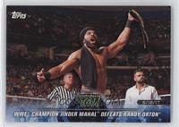 WWE Champion Jinder Mahal Defeats Randy Orton