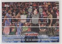 The New Day Defeat The Usos for the SmackDown Tag Team Championship