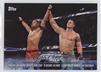 Shinsuke Nakamura Defeats John Cena to become the WWE Championship Number One C…