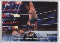 John Cena Defeats Baron Corbin