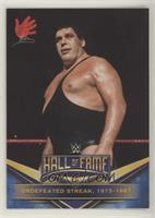 Andre the Giant (Undefeated Streak, 1973-1987)