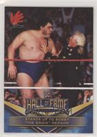 Andre the Giant (Stands up to Bobby