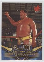Andre the Giant (Wins the Wrestlemania 2 Battle Royal)