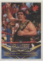 Andre the Giant (Wins the WWE Championship)
