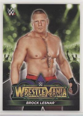 2018 Topps WWE Road to Wrestlemania - Wrestlemania 34 Roster #R-2 - Brock Lesnar [EXtoNM]