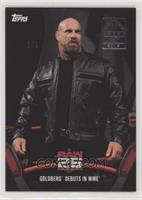 Goldberg debuts in WWE #/1