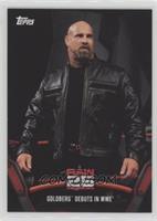 Goldberg debuts in WWE
