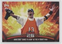 John Cena Comes to Raw as the #1 Draft Pick