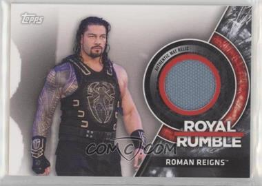 2018 Topps WWE Then Now Forever - Royal Rumble Mat Relics #MRRR-RR - Roman Reigns /299