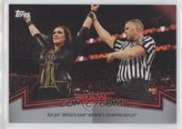 Raw Women's Division - Nia Jax Defeats Raw Women's Champion Bayley #/50