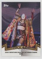 NXT Women's Division - Asuka Defeats Nikki Cross in a Last Woman Standing Match