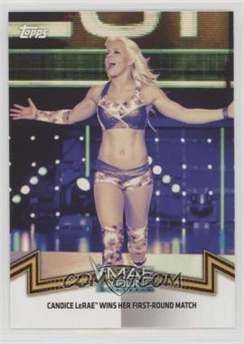 2018 Topps WWE Women's Division - Memorable Matches and Moments #NXT-18 - NXT Women's Division - Candice LeRae Wins her First-Round Match