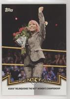 NXT Women's Division - Asuka Relinquinshes the NXT Women's Championship