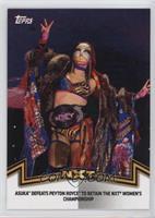 NXT Women's Division - Asuka Defeats Peyton Royce