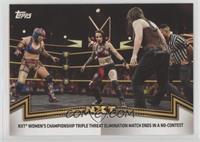 NXT Women's Division - NXT Women's Championship Triple Threat Elimination Match…