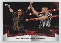 Raw Women's Division - Nia Jax Defeats Raw Women's Champion Bayley