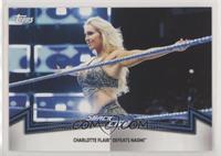 Smackdown Women's Division - Charlotte Flair Defeats Naomi