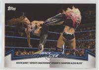 Smackdown Women's Division - Mickie James Defeats Smackdown Women's Champion Al…