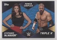 Stephanie McMahon & Triple H #/25