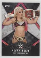 RAW Women's Champion - Alexa Bliss