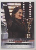 Nikki Bella Wins the Diva of the Year Slammy Award