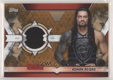 2019 Topps WWE Raw - Shirt Relics - Bronze #SR-RR - Roman Reigns /99
