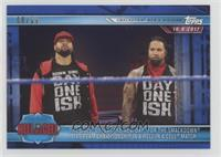 The USOS Defeat The New Day For The Smackdown Tag Team Championship /99