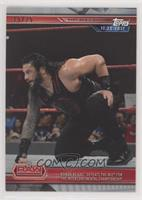 Roman Reigns Defeats The Miz for The Intercontinental Championship #/25