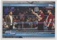 Kevin Owens & Sami Zayn Attempt to Occupy Smackdown Live #/25